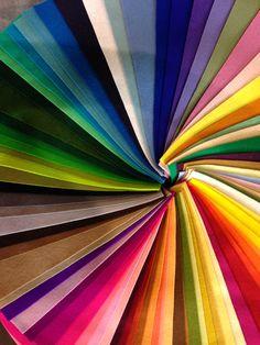 rainbow suede