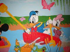 Detail of Disney wall art No2 Τοιχογραφιες παιδικων δωματιων - www.wallinart.gr Castle Mural, Murals, Snoopy, Wall Art, Disney, Amazing, Fictional Characters, Wall Murals, Wall Mural