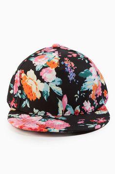 May Flowers Snapback Cap
