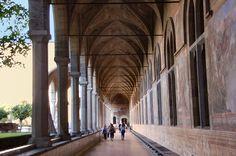 Chiostro Monastero di Santa Chiara