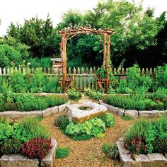 Both trendy and traditional, these inspired potager designs turn the everyday vegetable garden into art for your landscape.
