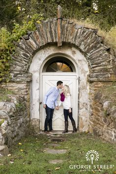 Jessica & Chris: Woodsy Winter Philadelphia Engagement Session at Valley Forge | George Street Photo & Video