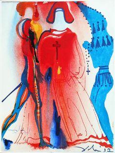 Salvador Dalí's Rare 1975 Illustrations for Romeo & Juliet http://katia-lexx.livejournal.com/1875447.html