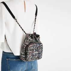QUILTED CHAIN BACKPACK - View all-BAGS-WOMAN | ZARA United States ... : quilted rucksack zara - Adamdwight.com