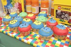 Lego party Theme Parties, Party Themes, Lego, Classic, Food, Themed Parties, Derby, Eten, Legos
