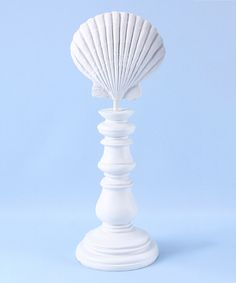 Look at this Scallop Shell Tabletop Décor on #zulily today!
