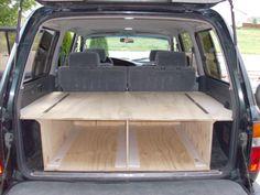 New car camping storage truck bed 37 ideas Minivan Camping, Truck Bed Camping, Tent Camping Beds, Kayak Camping, Glamping, Camping Storage, Camping Organization, Car Storage, Drawer Storage