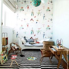 Gorgeous kids room.