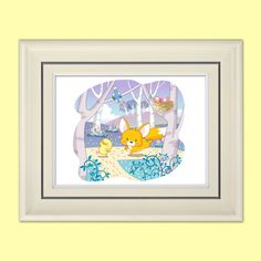 Cute Animals Print 14x11 or 10x8  Children's by LyricalAstronaut, $19.99