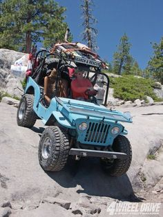 58Th Annual Jeepers Jamboree Left Front Jeep - Trail Rider