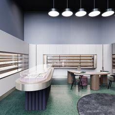 """다음 @Behance 프로젝트 확인: """"Jewelry store"""" https://www.behance.net/gallery/44957215/Jewelry-store"""