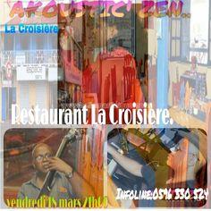 LE RESTAURANT LA CROISIERE RECOIT LE GROUPE ZEN Vous aussi intégrez vos événements dans l'Agenda des Sorties de www.bellemartinique.com C'est GRATUIT !  #martinique #Antilles #domtom #outremer #concert #agenda #sortie #soiree