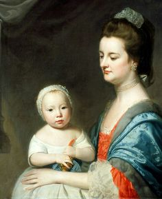 'Mrs Marton and Her Son Oliver'