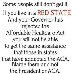 Vote your red governors out!  They don't give a damn about you!  VOTE the GOP OUT!