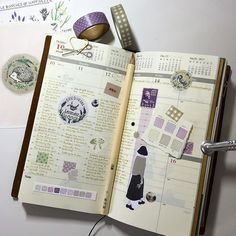 My week so far. Thank you so much to Marion @rekersdreesdesign for the most beautiful little package which arrived today... #midori #midoritravelersnotebook #travelers #travelersnotebook #planner #planneraddict #plannerlove #journal #journaling #artjourna