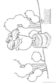 Dr Seuss the Lorax Coloring Pages 6