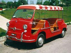 FIAT 600 MULTIPLA JOLLY d'epoca