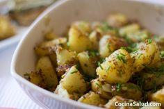 Patatas con curry...¡Deliciosas! www.cocinasalud.com