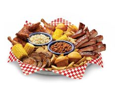 Famous Daves BBQ! Enjoy it at the Branson Airport.  Don't forget to grab a load for the flight...