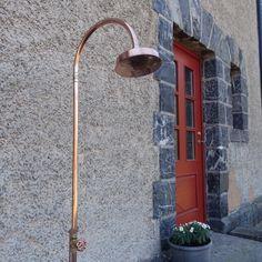 Utedusj | Hagedusj | Enkel montering - www.tlund.no Slate Paving, Desk Lamp, Table Lamp, Lund, Jacuzzi, Greenery, Backdrops, Outdoor Structures, Lighting