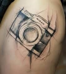 vintage camera tattoo designs - Google Search