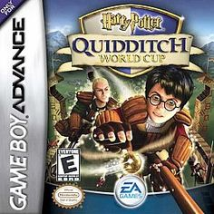 Harry Potter Quidditch World Cup Nintendo Game Boy Advance 2003 olympic style