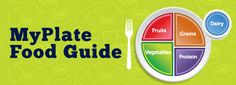 My plate food guide from the USDA. Helps with #meal planning for #kids.