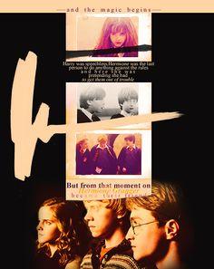 Hermione Granger became their friend.