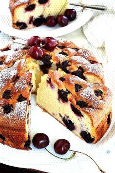 #excellente #réaliser #classique #moelleux #variante #enfants #recette #gâteau #cerises #fon...