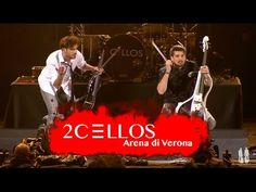 2CELLOS Performs a Live Cover of 'Welcome to the Jungle' by Guns N' Roses