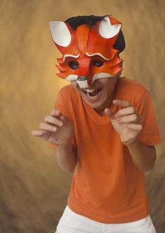 Matt Lyon's Paper Mache Theater Masks