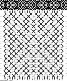 aztec friendship bracelet pattern