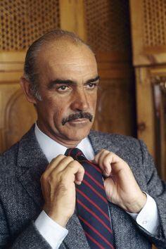""""""" Herringbone Harris Tweed. Sean Connery, 1983. """""""