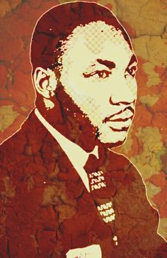 Martin Luther King, Jr-1963 Art Print