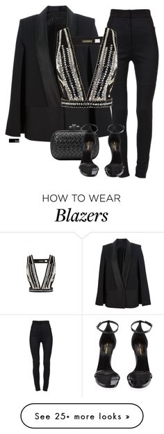 """Untitled #1453"" by chloeoliver-pitelka on Polyvore featuring Dolce&Gabbana, Victoria Beckham, sass & bide, Bottega Veneta and Yves Saint Laurent"