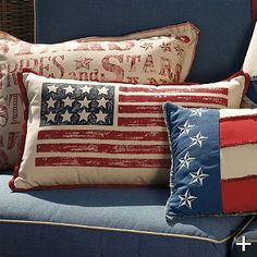 I would love to have these!! Patriotic burlap