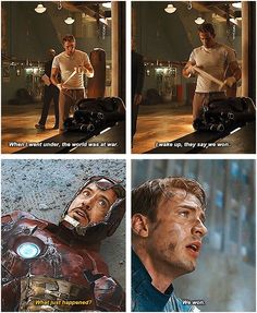 The Avengers- this is just like wow people