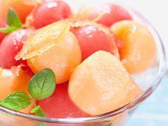 Sitrusmarinoitu melonisalaatti - Reseptit