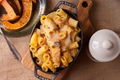 rustic Autumn pumpkin Mac & Cheese