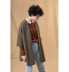 Schau mal 40 - New Site Short Curly Haircuts, Curly Hair Cuts, Short Hair Cuts, Curly Hair Styles, Short Curly Pixie, Pretty Outfits, Cool Outfits, Fashion Outfits, Tweed