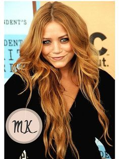 strawberry blonde ombre for medium length hair - Google Search