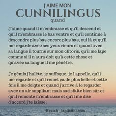 J'aime mon cunnilingus quand… | LaplisiTol