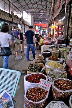 Spice market, Wuhan, China