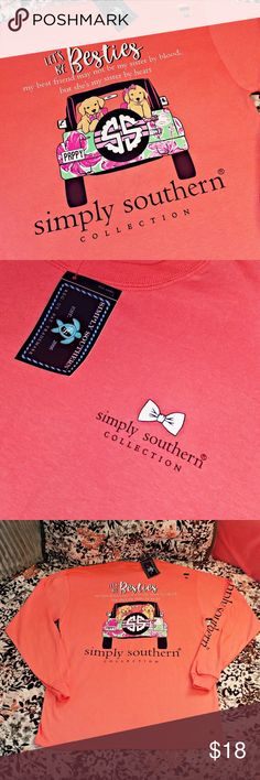 🆕 SIMPLY SOUTHERN T-SHIRTS 3/$45  🚨 WHILE SUPPLIES LAST 🚨 ‼️ PRICE IS FIRM ‼️ 🚫 PLEASE BE CONSIDERATE & DO NOT SEND ME LOW-BALL OFFERS 🚫 ❎ NO OTHER DISCOUNTS OFFERED ❎  ⚠️ BUYER IS RESPONSIBLE FOR ADDITIONAL SHIPPING FEES IF BUNDLE EXCEEDS THE 5LB WEIGHT LIMIT ⚠️  ✅ CHECK OUT ALL OF MY LISTINGS  ⚓ NO TRADES ⚓ NO LOW BALL OFFERS ⚓ I DO NOT MODEL MY LISTINGS ⚓ NO OFF POSH TRANSACTIONS  📬 SHIPS IN 24-48 HOURS Simply Southern Tops Tees - Long Sleeve