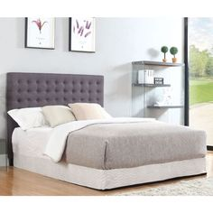 Alice Queen Size MDF Wood Bed Frame In White Ash | Buy New Arrivals |  Furniture | Pinterest | Wood Beds, Queen Size And Bed Frames