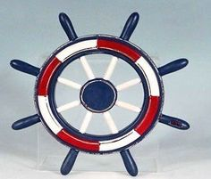 Decorative Americana Red White + Blue Ship Wheel Wall Hanging Collectible Badges,http://www.amazon.com/dp/B00A1BSUF0/ref=cm_sw_r_pi_dp_tQrLsb1XGZQMPE9T
