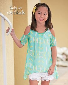 From CWDkids: Open Shoulder Tunic
