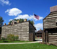 Historic Old Fort - Fort Wayne Parks and Recreation Anthony Wayne, Build A Fort, Old Fort, Parks And Recreation, Whistler, Salt Lake City, Present Day, Historical Sites