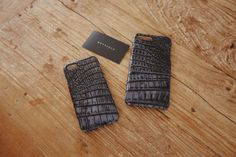 #METTIQUE #handstitch #leatheronly  #METTIQUE #iphone7 and #iphone7plus cases in #volcanicCharcoal #African #Nile #crocodile.   #METTIQUE works very closely with the world's most respected crocodile tannery in Singapore to customize this #VolcanicCharcoal color, exclusively for the #METTIQUE brand.   #VolcanicCharcoal Nile #crocodile is available for #customization on all product models.    WWW.METTIQUE.COM