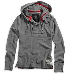 Mens Eagle Lightweight Hoodie - American Eagle Outfitters